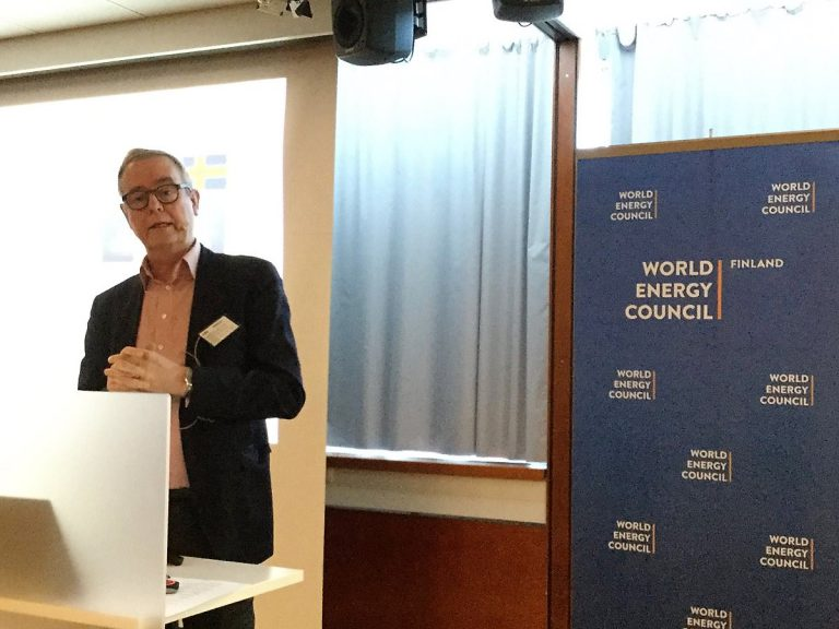 berndt schalin hos World Energy Council